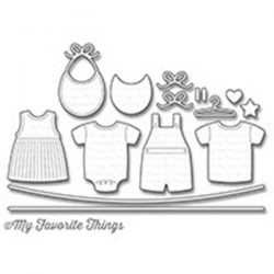 My Favorite Things Bundle of Baby Clothes Die-namics