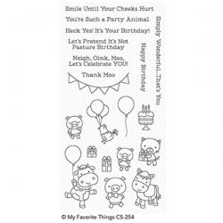 My Favorite Things Party Animals Stamp Set