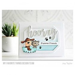 My Favorite Things Furever Friends Stamp Set