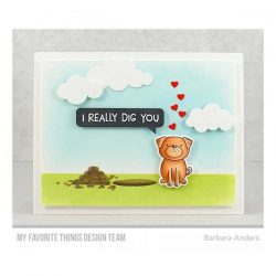 My Favorite Things Canine Companions Stamp Set