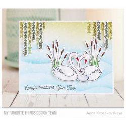 My Favorite Things Splendid Swans Stamp Set