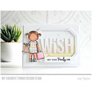 My Favorite Things Pure Innocence Birthday Girl Stamp Set class=