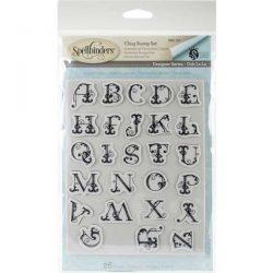 Spellbinders French Alphabet Stamp Set