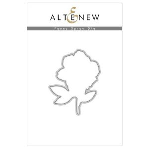 Altenew Peony Spray Stamp & Die Bundle class=