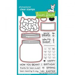 Lawn Fawn How You Bean? Shaker Add-on