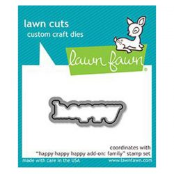 Lawn Fawn Happy Happy Happy Add-on: Family Lawn Cuts