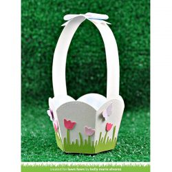 Lawn Fawn Stitched Basket