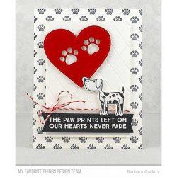 My Favorite Things Paw Prints Die-namics