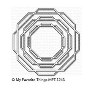 My Favorite Things Linked Octagon Frames Die-namics