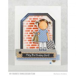 My Favorite Things Single Stitch Line Tag-Corner Rectangle Frames Die-namics