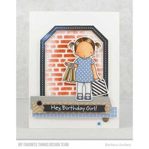 My Favorite Things Single Stitch Line Tag-Corner Rectangle Frames Die-namics class=