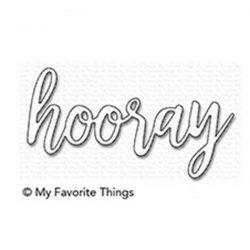 My Favorite Things Hooray Die-namics