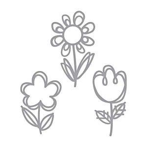Spellbinders Sketched Blooms Die Set