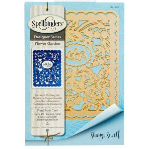 Spellbinders Floral Panel Card Die Set class=