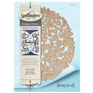 Spellbinders Shapeabilities Floral Gatefold Etched Dies class=