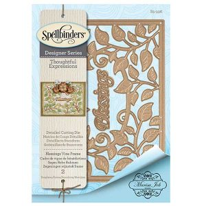 Spellbinders Blessings Vine Frame Die Set class=