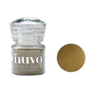 Nuvo Embossing Powder - Classic Gold class=