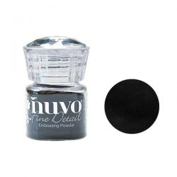 Nuvo Fine Detail Embossing Powder - Jet Black