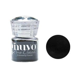 Nuvo Fine Detail Embossing Powder - Jet Black class=