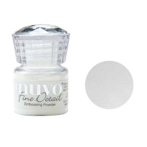 Nuvo Embossing Powder - Crystal Clear class=