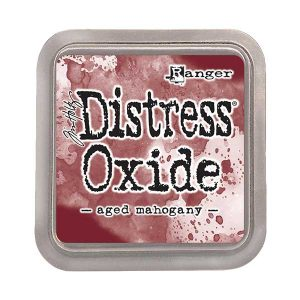 Tim Holtz Distress Oxide Ink Pad – Aged Mahogany class=