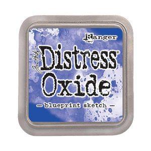 Tim Holtz Distress Oxide Ink Pad – Blueprint Sketch