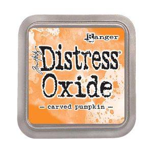 Tim Holtz Distress Oxide Ink Pad – Carved Pumpkin
