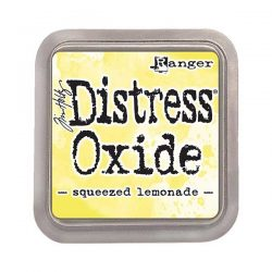 Tim Holtz Distress Oxide Ink Pad – Squeezed Lemonade