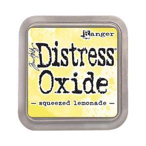 Tim Holtz Distress Oxide Ink Pad – Squeezed Lemonade