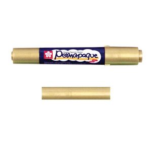 Sakura Permapaque Paint Marker Dual Point – Gold