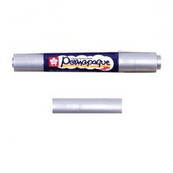 Sakura Permapaque Paint Marker Dual Point - Silver