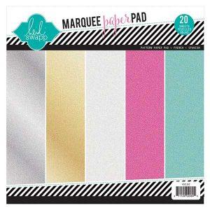 Heidi Swapp Glitter Paper Pad – 8.5″X8.5″