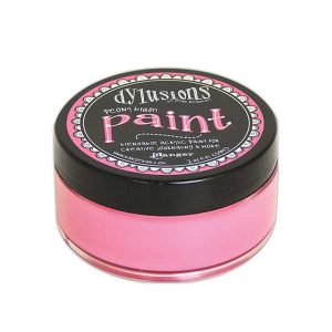 Dylusions Blendable Acrylic Paint – Peony Blush