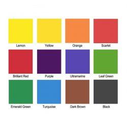Brusho Crystal Colours Set – 12/Pkg