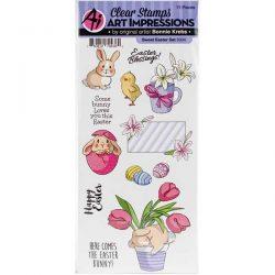 Art Impressions Sweet Easter Stamp Set