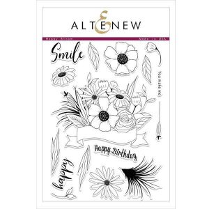 Altenew Happy Bloom Stamp Set