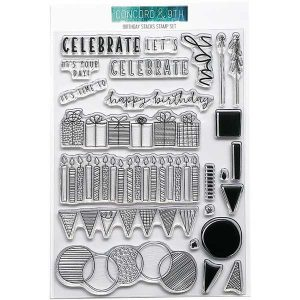 Concord & 9th Birthday Stacks Stamp Set class=