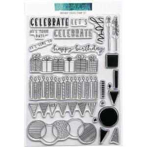 Concord & 9th Birthday Stacks Stamp Set class=