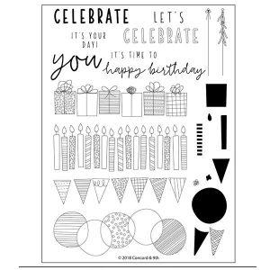 Concord & 9th Birthday Stacks Stamp Set
