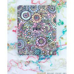 Catherine Pooler Doodle Garden Background Stamp
