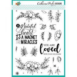 Catherine Pooler Designs Grateful Heart Stamp