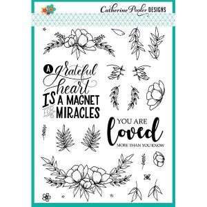 Catherine Pooler Designs Grateful Heart Stamp