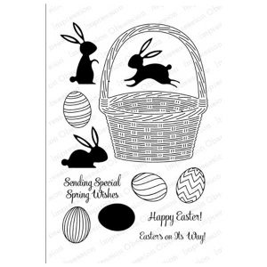 Impression Obsession Easter Basket Stamp Set