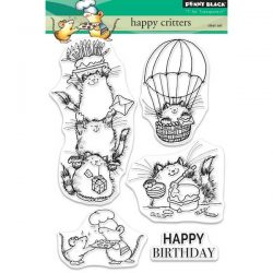 Penny Black Happy Critters Stamp Set
