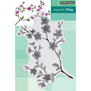 Penny Black Blissful Blossoms Slapstick/Cling Stamp