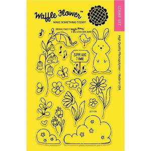 Waffle Flower Spring Time Stamp Set