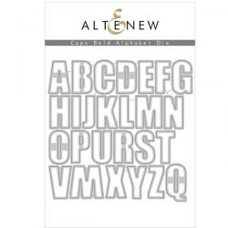 """<span style=""""color:red;"""">Pre-Order</span> Altenew Caps Bold Alphabet Die Set - (more on their way)"""