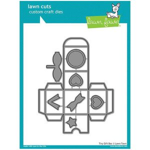 Lawn Fawn Tiny Gift Box Lawn Cuts