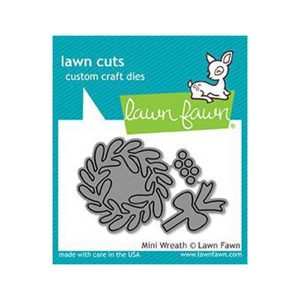 Lawn Fawn Mini Wreath Lawn Cuts