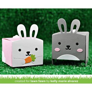 Lawn Fawn Tiny Gift Box Bunny Add-On Lawn Cuts class=